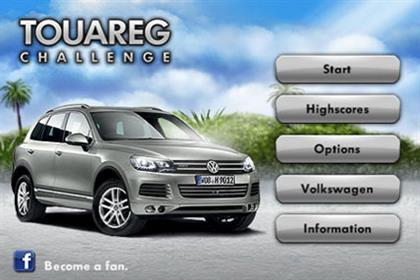 Volkswagen's new Touareg game