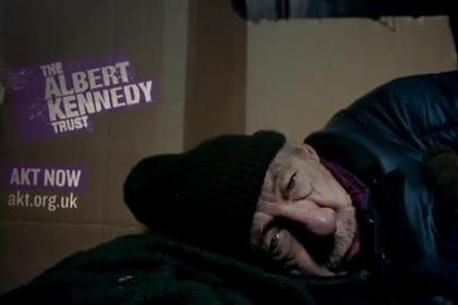 AKT: Sir Ian McKellen is among the stars who boost this ad's effectiveness