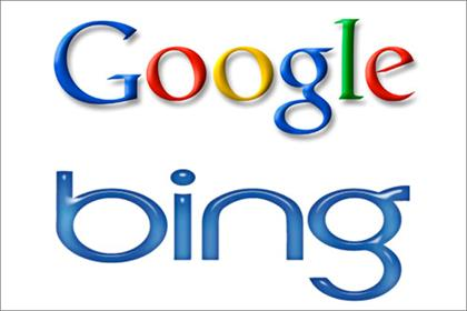 Google: at loggerheads with rival Bing over search results
