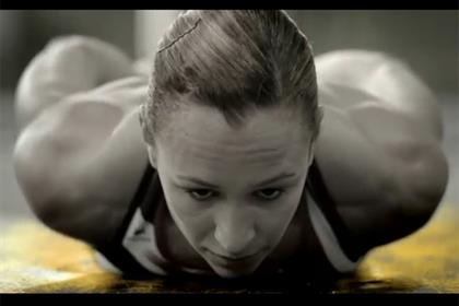 Jessica Ennis stars in the Aviva campaign