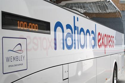National Express: passes Facebook milestone