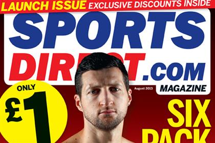 Sportsdirect.com: launches monthly sports and fitness title
