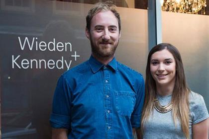 Thom Whitaker and Danielle Noël: creative duo join Wieden and Kennedy