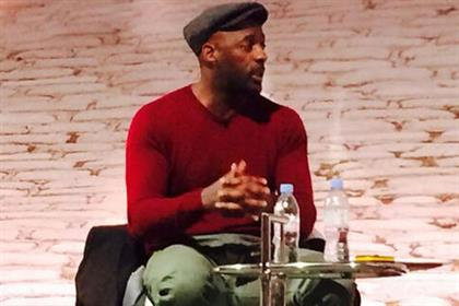 Idris Elba: actor revealed his musical influences to a packed audience