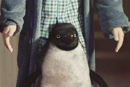 Monty the penguin: star of the John Lewis 2014 Christmas campaign