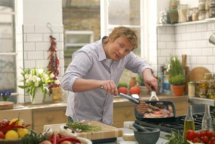 Jamie Oliver: struck content partnership with Bacardi earlier this year