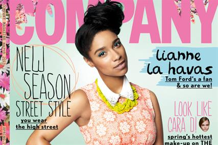 Front cover of Company in March 2013: will move to online-only after October 2014 issue