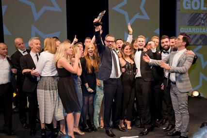 Guardian: winning Sales Team of the Year
