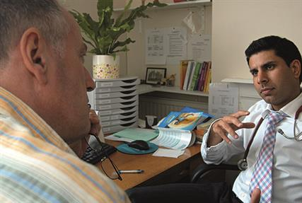 Consultation: personal health budget concerns for GPs (photo: JH Lancy)