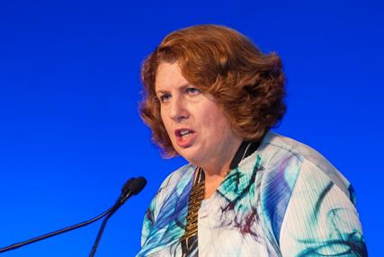 Dr Maureen Baker: backing closer GP link to social workers (Photo: Pete Hill)