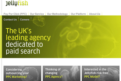 Jellyfish: secured £3m paid search account at Fairpoint