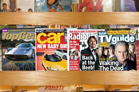 BBC Magazines and Bauer titles