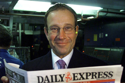 Richard Desmond: would change the way The Sun is run