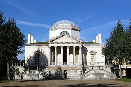 Chiswick House: the place to be for media this week
