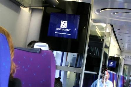 TransPerfect: first advertiser on Heathrow Express digital onboard panels