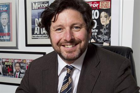 Lloyd Embley: editor of the Daily Mirror and Sunday Mirror