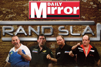 Daily Mirror in £450,000 sponsorship of the Grand Slam of Darts