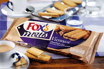 Northern Foods brand Fox's