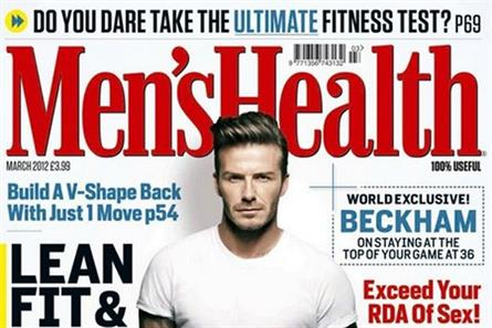 Men's Health: tops the men's paid-for lifestyle sector with a circulation of  216,336