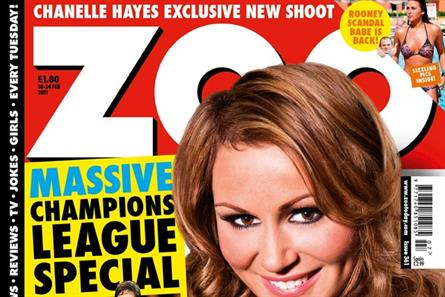 Zoo: further declines indicative of lads' mag sector