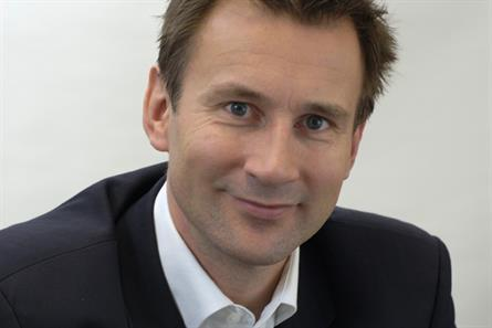 Jeremy Hunt: culture secretary outlines plans for regional TV multiplexes