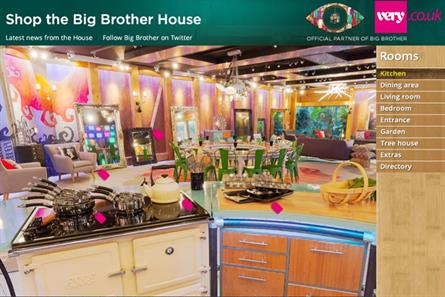 Channel 5'sBig Brother returns with Very.co.uk partnership