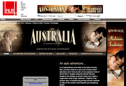 Australia: C4 in film promotion deal
