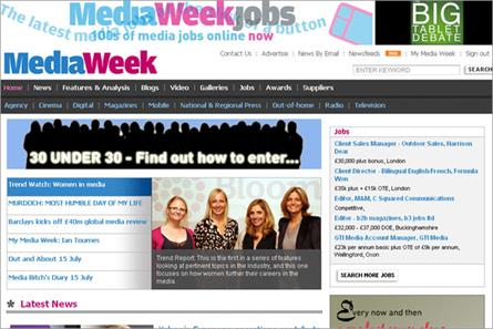 Mediaweek.co.uk: introduces digital subscription model