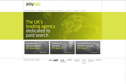 Jellyfish: won a four-way pitch to secure deal with Brightside Group