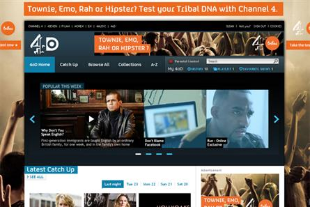 4oD: Channel 4 secures deal with Nissan