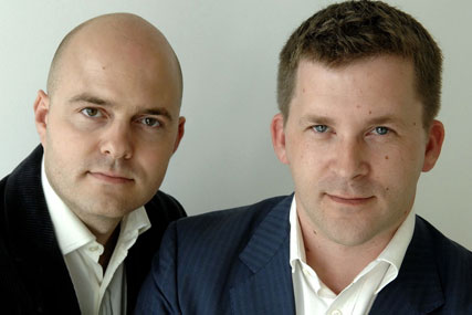 Harry Harcus and Sam Finlay, who will lead the new IPC digital sales force