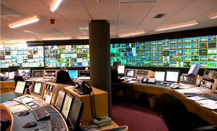 Digital player: the Arqiva control centre
