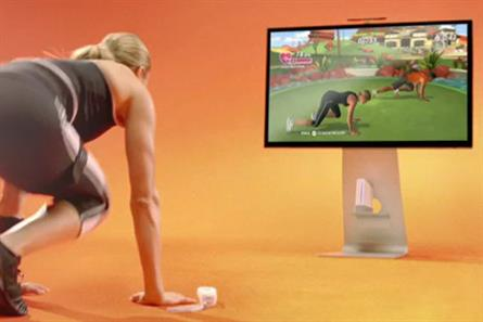 EA Sports Active 2: Electronic Arts has taken over VirginMedia to promote the launch