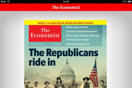 The Economist: launches free Apple iPad, iPhone and iPod Touch apps