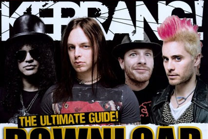 Kerrang!: circulation up 7% period on period