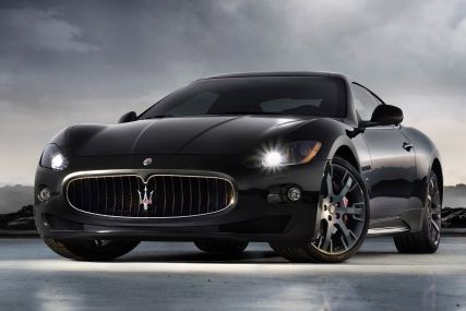 Luxury sports marque Maserati, part of the Fiat Group.