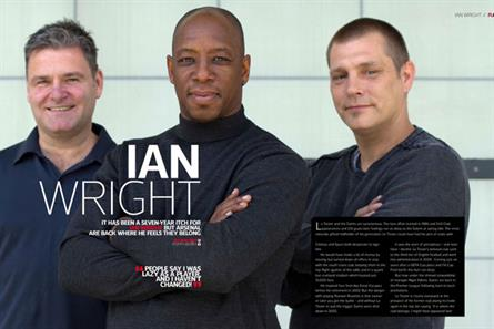 Football Life: launch issue contains feature on former England player Ian Wright