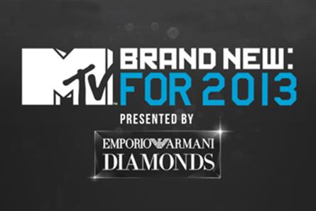 MTV: links up with Emporio Armani Diamonds