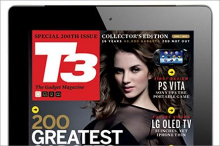 T3 tablet edition: publisher Future promotes platform's ad potential
