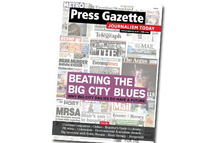 Press Gazette: May edition will be final issue