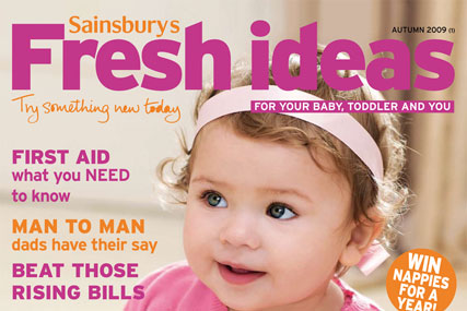 Sainsburys Fresh Ideas up 3.4% year on year