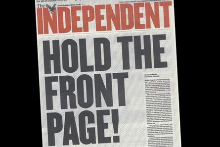 Press regulation: The Independent expresses its view on the contentious issue