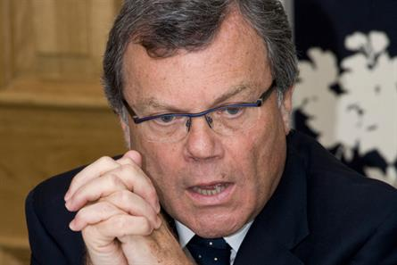 Sir Martin Sorrell: chief executive of GroupM parent company WPP
