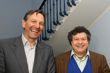 COI chief executive Mark Lund with IPA president Rory Sutherland at the IPA President's Reception
