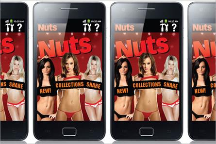 Nuts: launches Android app