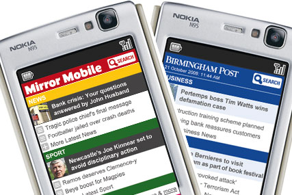 Trinity Mirror: has redesigned ultra-local sites as its rolls out phase two of mobile service