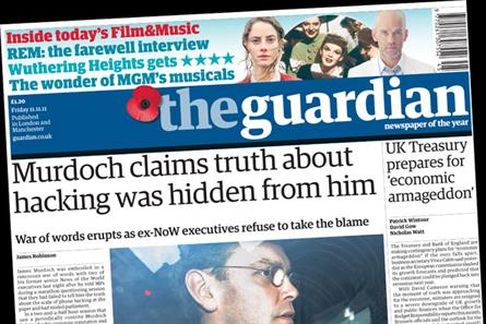 The Guardian: sheds just 2,000 copies despite price rise