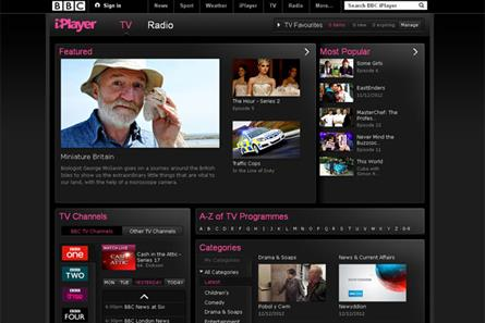 Internet TV: nearly a quarter of web users view catch-up services such as BBC iPlayer