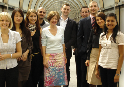 Left to right: Sarah Quinn, Linda Liberg, Bec Holt, Evros Agamemnonos, Claire Myerscough, Chris Worrell, Stuart McDonald, Martyn U'ren, Kasia Kowalska and Arifa Haque