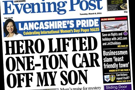 The Lancashire Evening Post: Johnston Press title